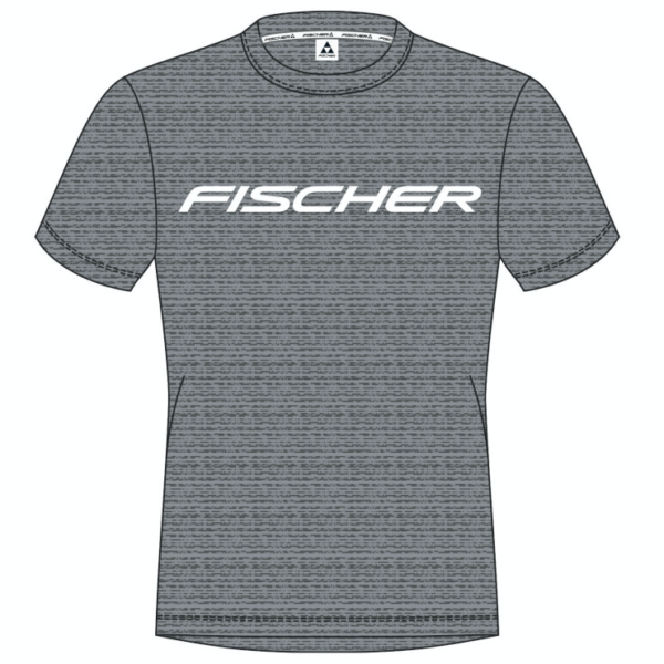T-shirt FISCHER Grey