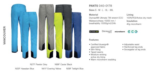 spodnie-fischer-vancouver-2019