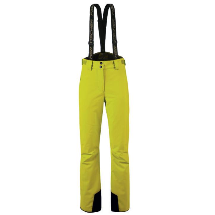 spodnie damskie fischer fulpmes 2020 yellow
