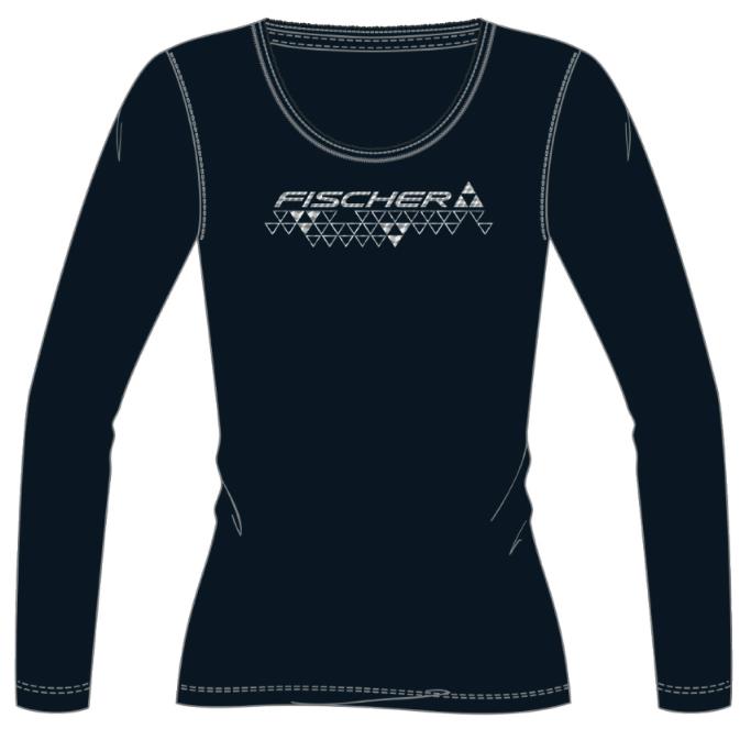 t-shirt damski fischer black