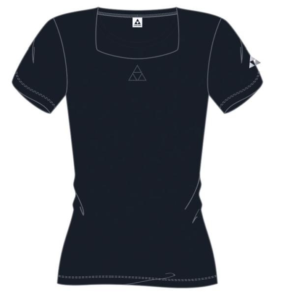 t-shirt damski fischer saasfee black