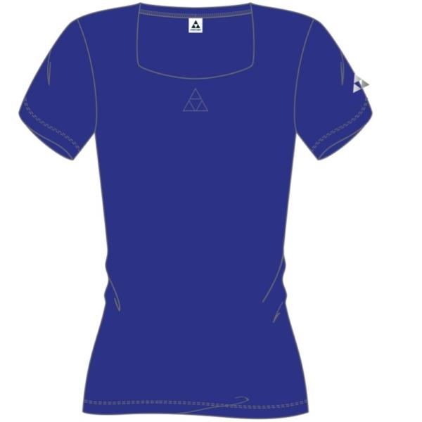 t-shirt damski fischer saasfee blue
