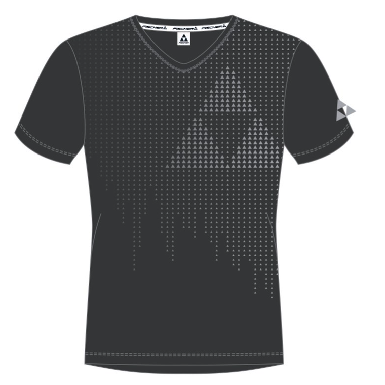 t-shirt fischer fiberbrunn black