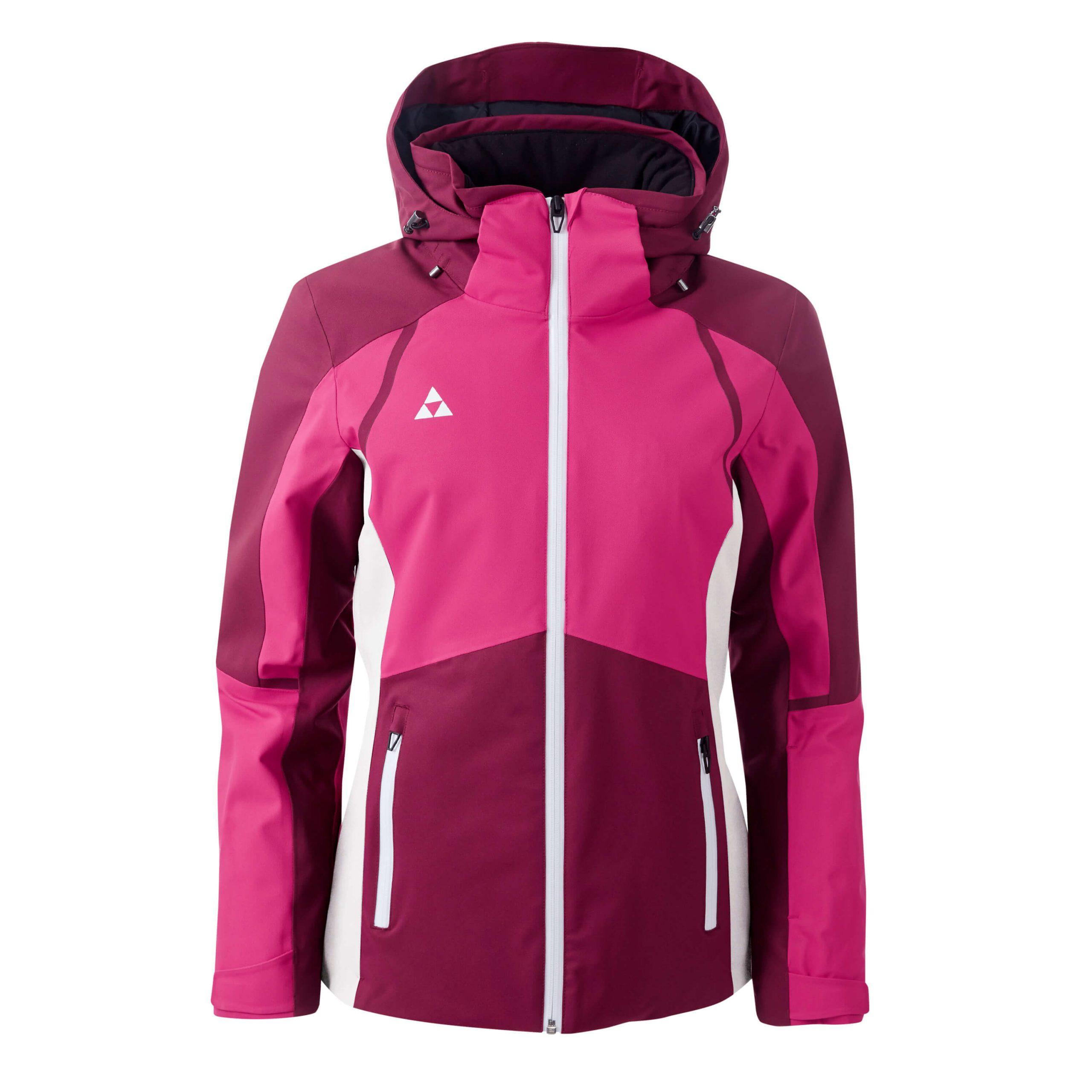 damska kurtka narciarska fischer goldried virtual pink