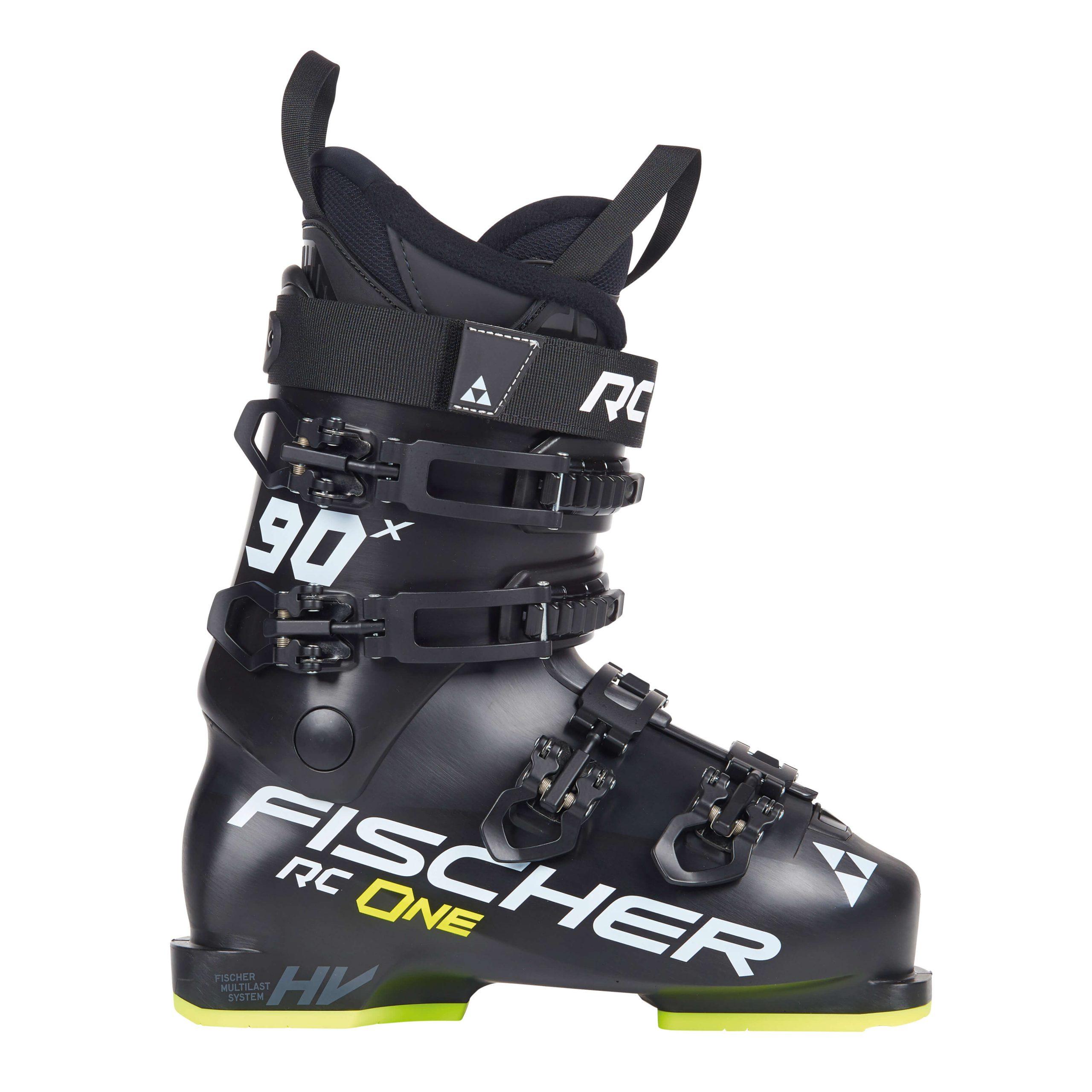 buty narciarskie fischer rc one x 90 black yellow 2021