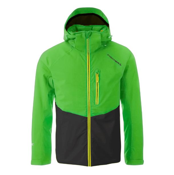 kurtka narciarska fischer eisjoch toucan green