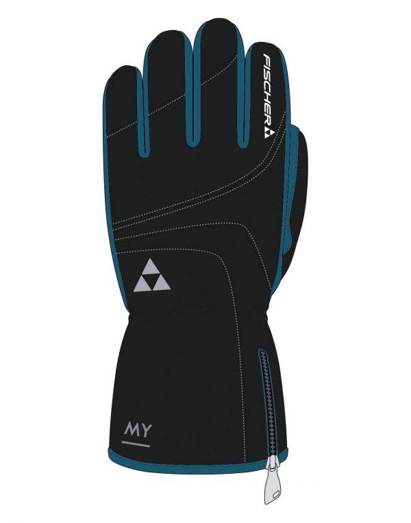 Rękawiczki FISCHER SKIGLOVE MYSTYLE Turquoise/ Black 2018