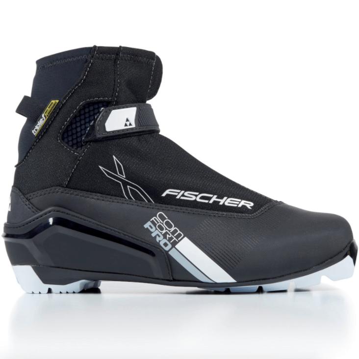 buty biegowe fischer xc pro comfort black silver