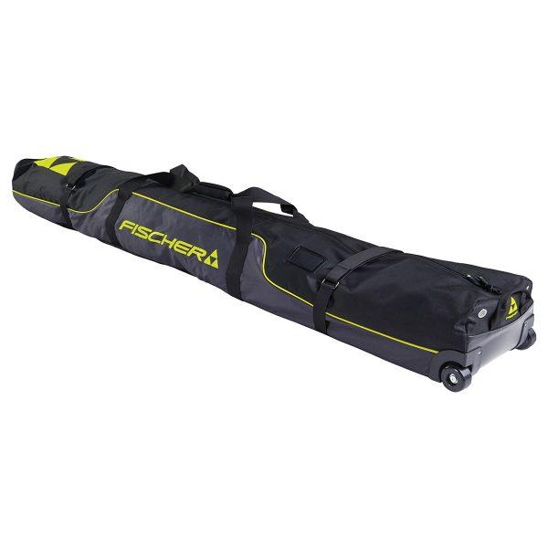 pokrowiec-na-narty fischer case 2p alpine race wheels