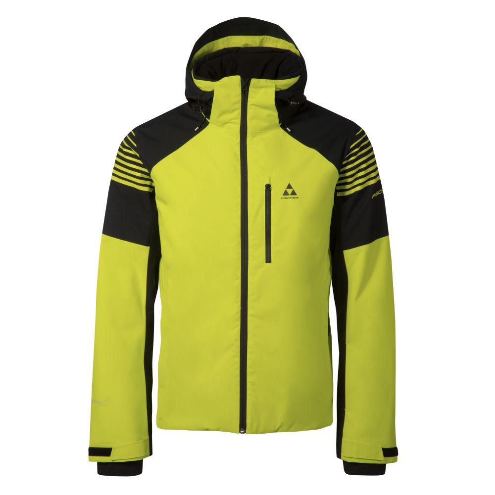 kurtka fischer GARMISCH ski jacket yellow