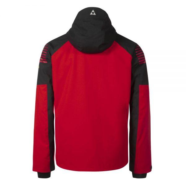 kurtka fischer GARMISCH ski jacket red