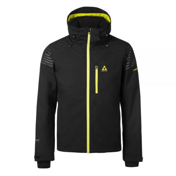 kurtka fischer GARMISCH ski jacket black