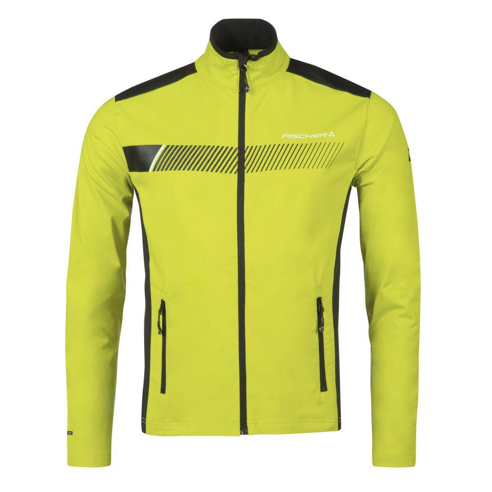 bluza fischer midlayer jacket ZELL yellow