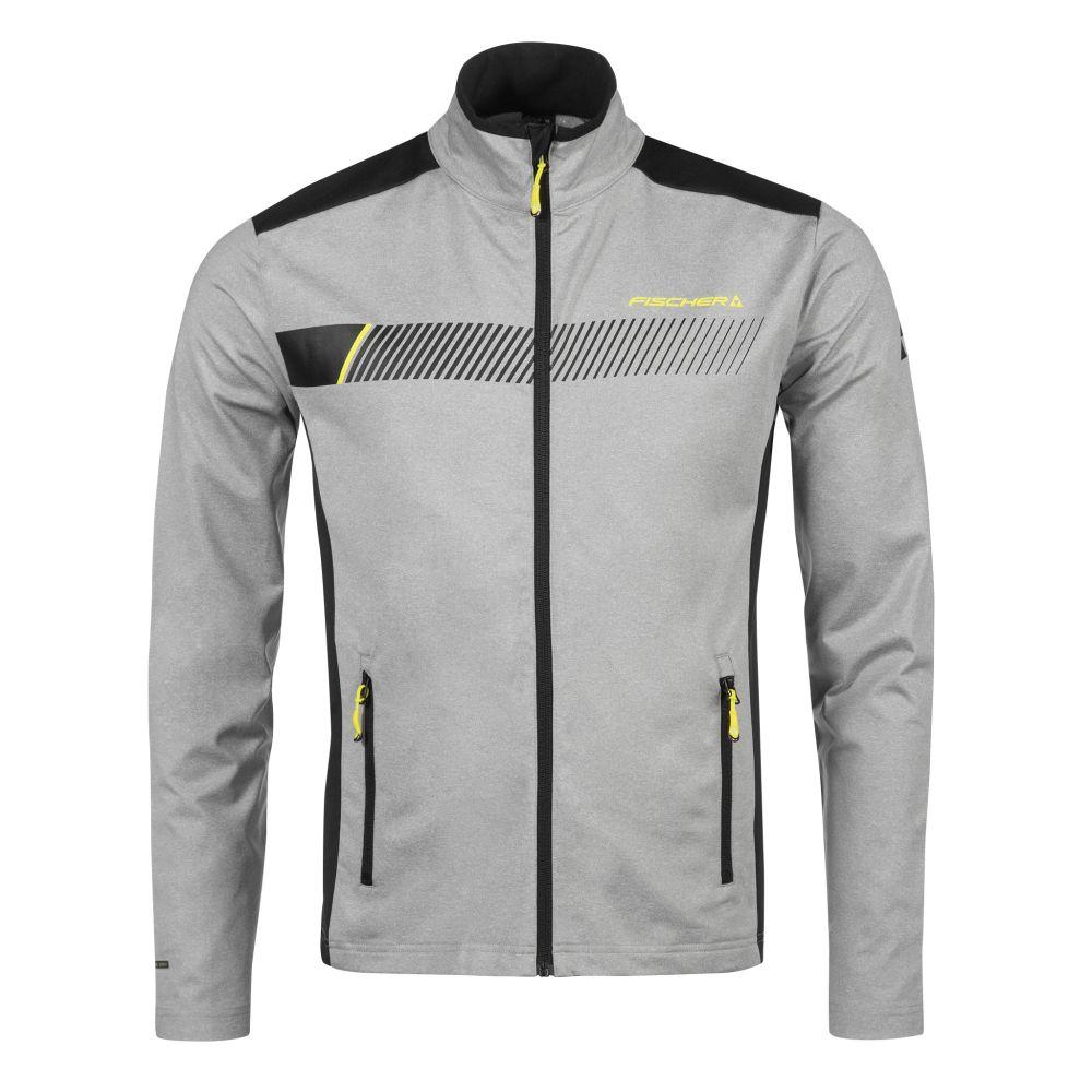bluza fischer midlayer jacket ZELL grey