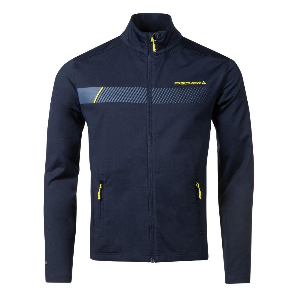 bluza fischer midlayer jacket ZELL navy