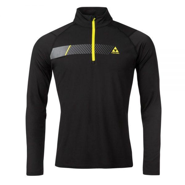 bluza fischer midlayer shirt KAPRUN black