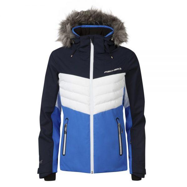 kurtka fischer ski jacket blue