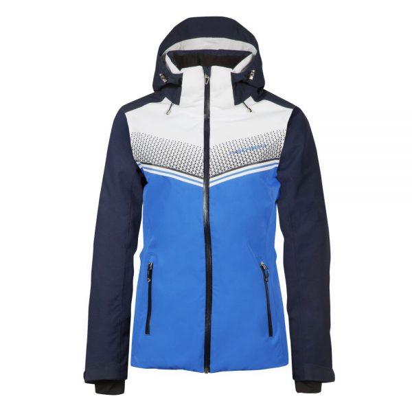 damska kurtka narciarska fischer reith electric blue