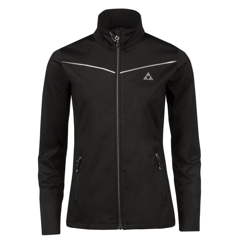 bluza fischer ELLMAU midlayer jacket black