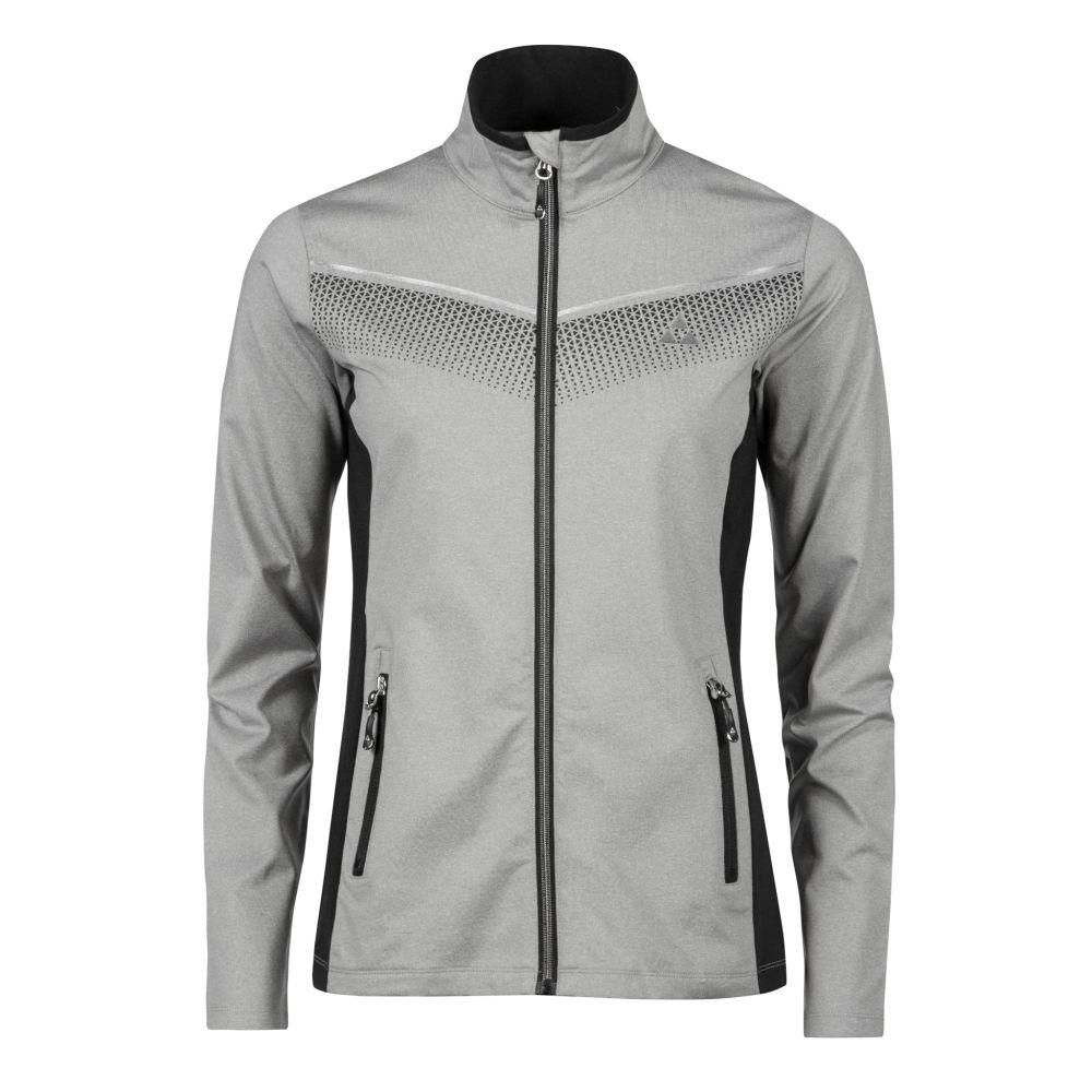 bluza fischer ELLMAU midlayer jacket grey