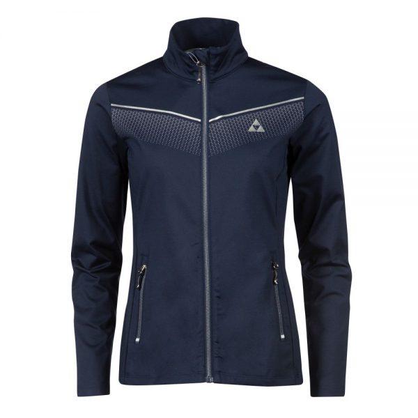 bluza fischer ELLMAU midlayer jacket navy