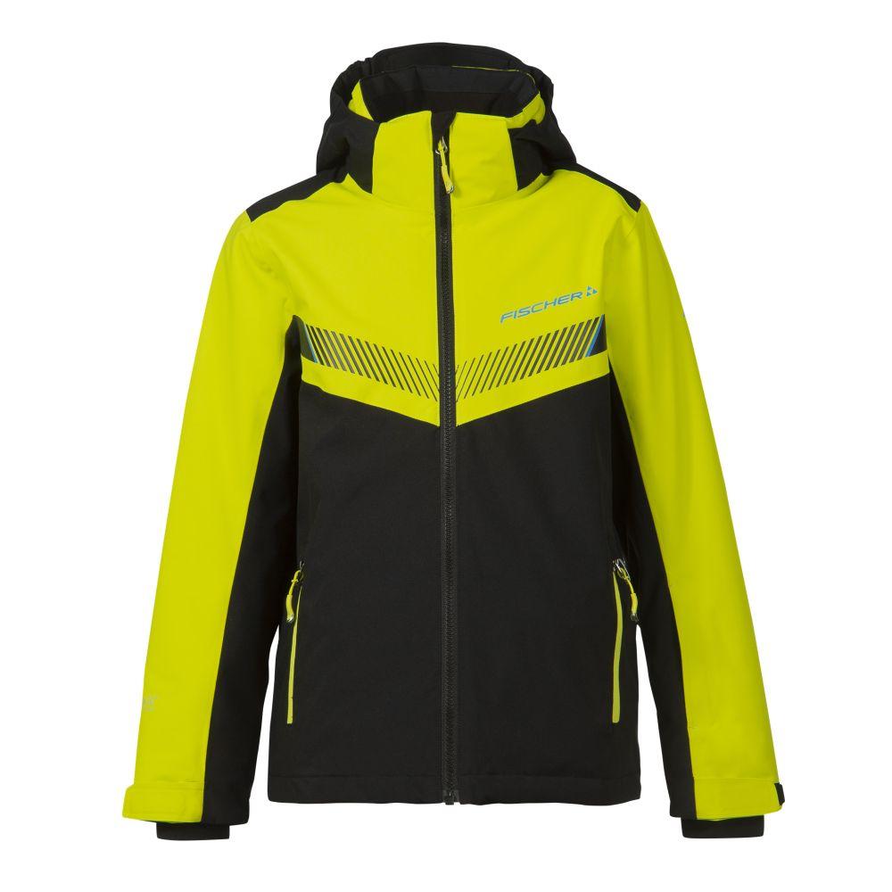kurtka fischer ski jacket KUFSTEIN junior yellow