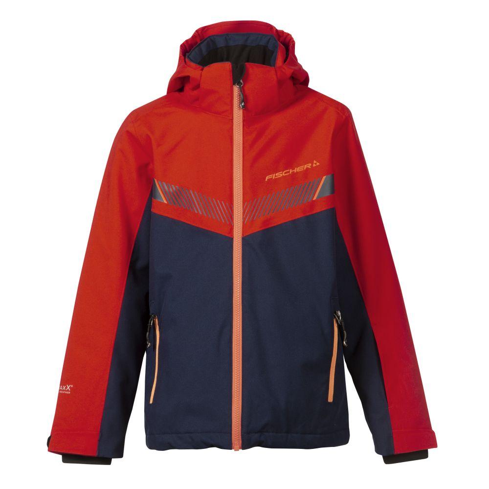 kurtka fischer ski jacket KUFSTEIN junior red